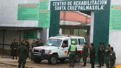 El penal de Palmasola en Santa Cruz.