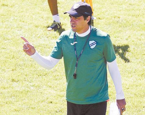 César Vigevani, entrenador celeste. Foto: Archivo-La Razón