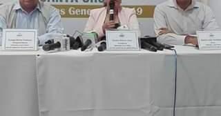 Sandra Kettels Vaca, Presidenta del Tribunal Electoral Departamental de…