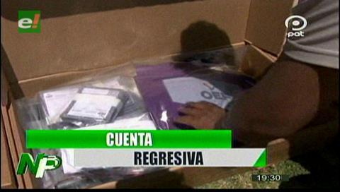 Video titulares de noticias de TV – Bolivia, noche del viernes 18 de octubre de 2019
