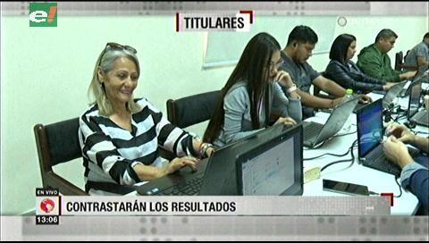 Video titulares de noticias de TV – Bolivia, mediodía del viernes 18 de octubre de 2019