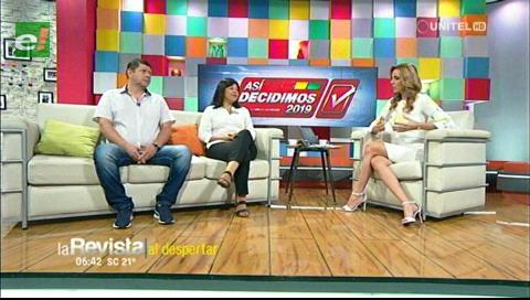 Gutiérrez y Sandóval debaten sobre una posible segunda vuelta