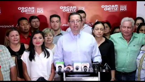 Óscar Ortiz anuncia que apoyará a Mesa, sin condiciones, tras perder en elecciones