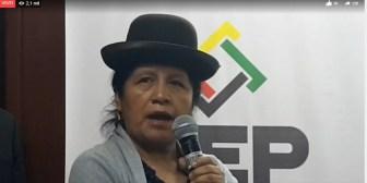 Waldo Albarracín desconfía del cómputo del Órgano Electoral