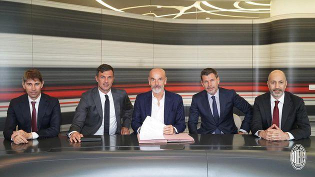 AC Milan presentó a Stefano Pioli como su nuevo director técnico