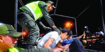 Policías denuncian que fueron obligados a ir al acto del MAS en el Cambódromo de Santa Cruz