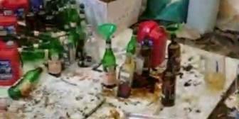 Ver video – Encuentran fabrica de bombas molotov y gran cantidad…