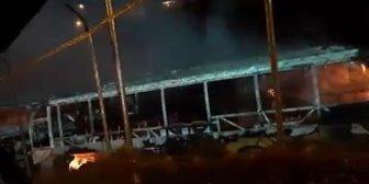 Ver video – #LaPazAsi quedaron los Pumakatari después del incendio.Reproducir video