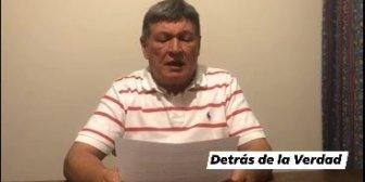 Ver video Omar Nuñez Vela renuncia como Alcalde…