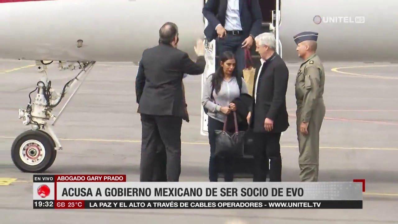 Abogado Gary Prado: Gobierno de México no pone límites a Evo porque es su «socio ideológico» - eju.tv