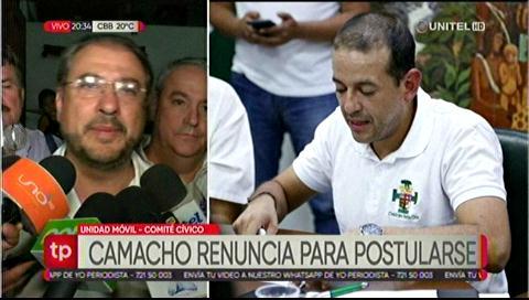 MNR firma preacuerdo con Camacho para apoyar su candidatura