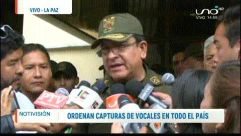 Grupos de élite de la Policía se trasladarán a Challapata