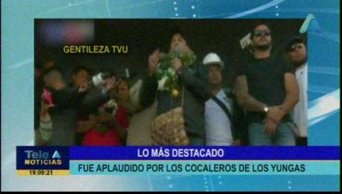 Video titulares de noticias de TV – Bolivia, noche del jueves 7 de noviembre de 2019