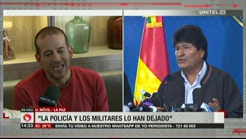 Camacho rechaza propuesta de Evo: «Queremos un nuevo proceso eleccionario»