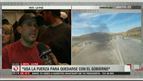 Camacho: «Si Evo Morales piensa que gobernará desde el Chapare, está equivocado»