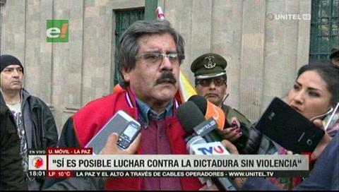 Albarracín: «Demostramos al mundo que es posible luchar contra la dictadura pacíficamente»