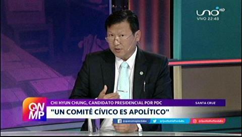 Chi critica posible candidatura de cívicos en las elecciones generales