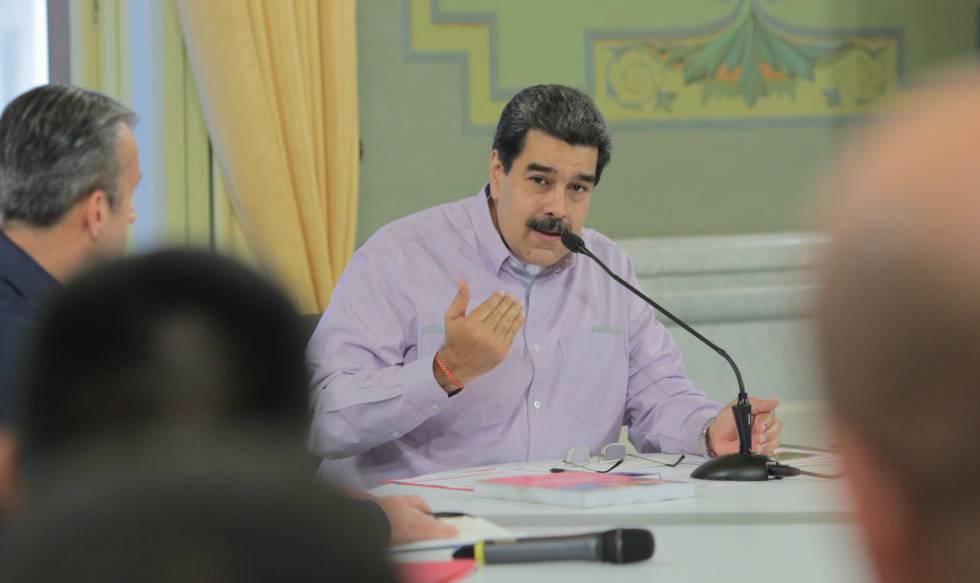 Exhorta Maduro a los venezolanos a defender la paz