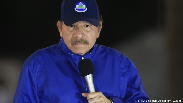 Nicaraguas Präsident Daniel Ortega (picture-alliance/AP Photo/A. Zuniga)