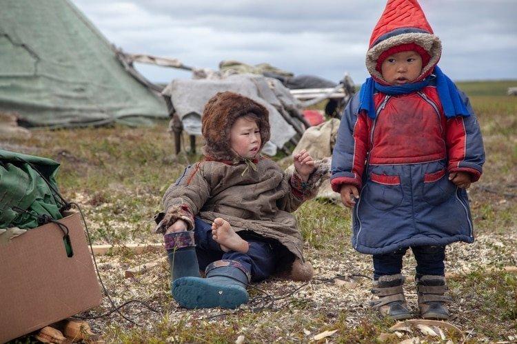 Como la mayoría de los pueblos indígenas rusos, viven en el norte del país (Shutterstock)