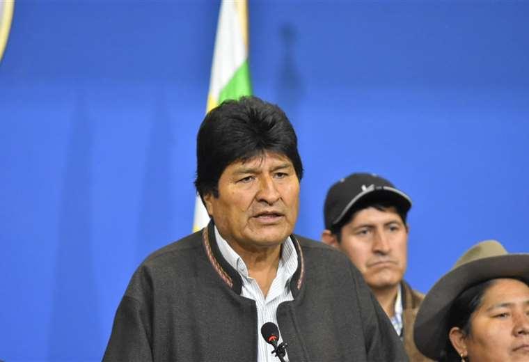 Central Obrera Boliviana pidió la renuncia a Evo Morales