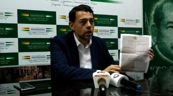 Morón asume la Presidencia de la Brigada Parlamentaria cruceña - eju.tv