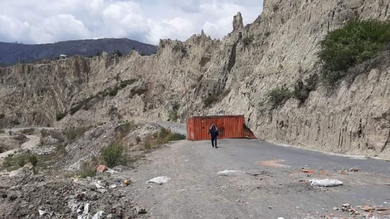 La Paz. Vecinos de Río Abajo reportan un fallecimiento y denuncian que son rehenes en su propia zona - eju.tv