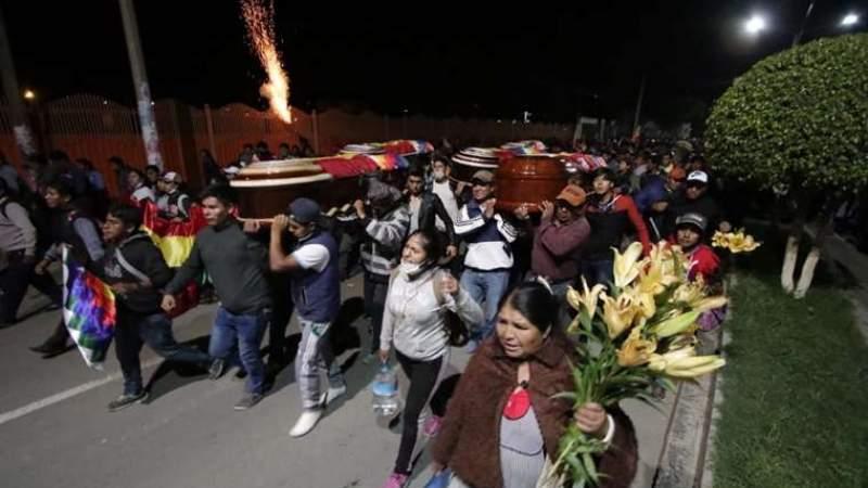 Ministro Murillo: «hay muertos en Sacaba por tiros en la nuca (…) una mente macabra está detrás» - eju.tv