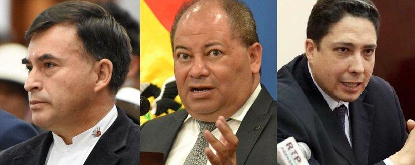 Quintana, Romero y Arce se irán de Bolivia rumbo a su asilo, en México