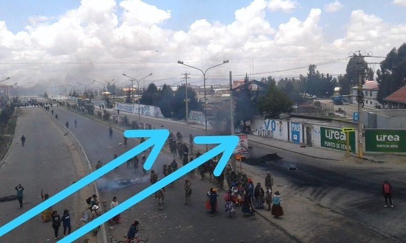 Operativo militar en planta de El Alto, en Bolivia, noviembre 2019 — VIDEOS
