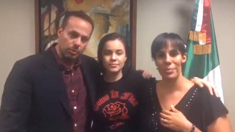 Los hijos de José José se reunieron en el consulado de México en Miami, para llegar a un acuerdo sobre el final de los restos de su padre (Foto: Instagram sari_oficial)