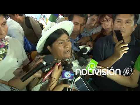 Segundina Orellana: Los policías deben pedir perdón de rodillas para entrar al Chapare