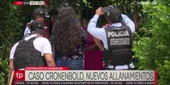 Nuevos allanamientos en investigación por ganancias ilícitas contra Cronenbold