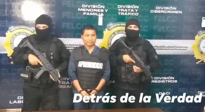 Dirigente del MAS Lucio Vedia es detenido acusado de estafa, con más de 1.000 víctimas