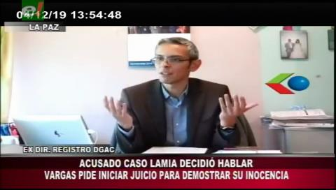 Acusado por el caso LaMia pide iniciar el juicio para demostrar su inocencia