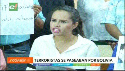 Revelan que concejal del MAS, Susana Vaca tenía relación sentimental con terrorista peruano Serna Ponce