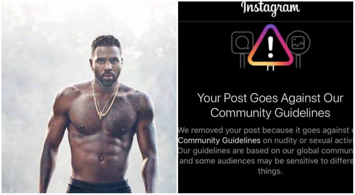 «No puedo evitar mi tamaño»: la foto en ropa interior de Jason Derulo que censuró Instagram