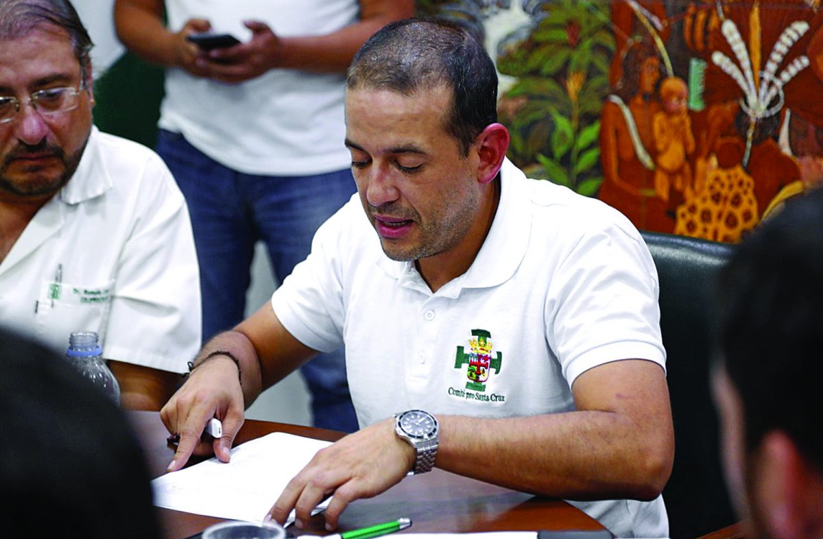 Camacho insta a Núñez a demostrar acusaciones contra Jerjes y lo amenaza con proceso
