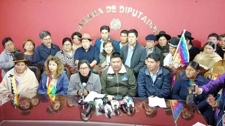 MAS exige a Añez aprobar o rechazar la Ley de Garantías; advierten con denuncia por incumplimiento de deberes