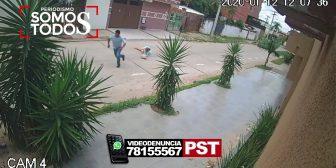 Ver video – Atraco en el barrio Amazonas detrás…
