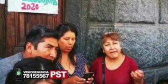 Ver video – Conflicto en la puerta de Emabajada boliviana en Argentina.…