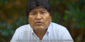 Palabras de Evo Morales al cumplirse 14 años del Estado Plurinacional de Bolivia