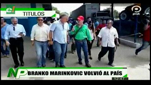 Video titulares de noticias de TV – Bolivia, mediodía del martes 14 de enero de 2020