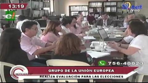 Comisión europea se reúne con el Tribunal Electoral de Santa Cruz