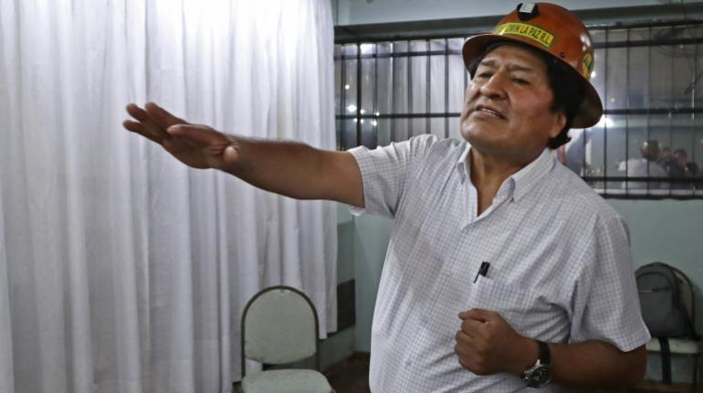 Evo llamó a organizar milicias armadas como en Venezuela