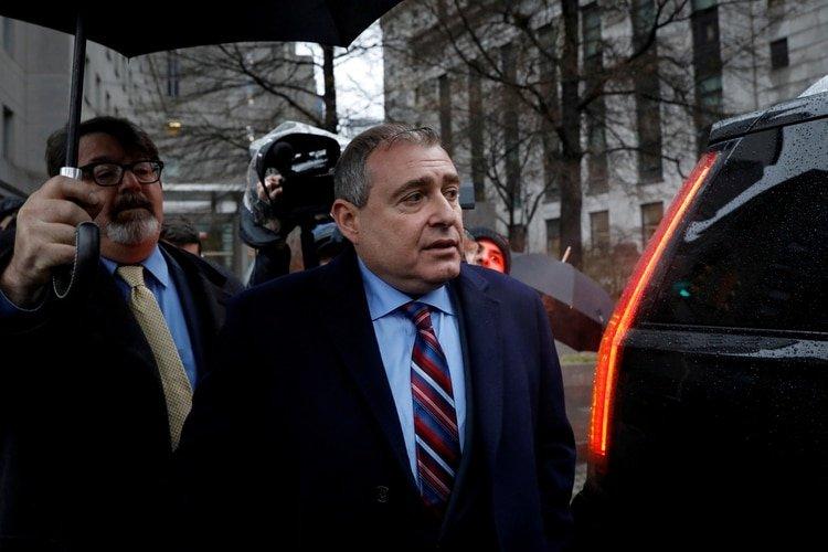 Lev Parnas. Foto: REUTERS/Brendan McDermid