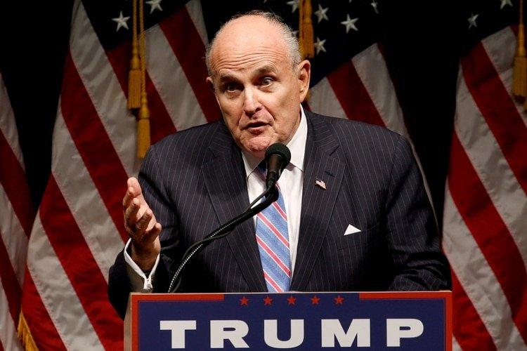 Rudy Giuliani. Foto: REUTERS/Jonathan Ernst