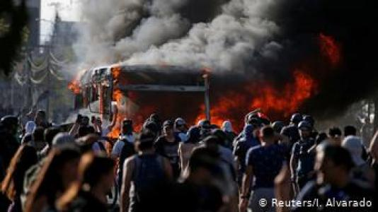 Chile | Anti-Regierungsproteste in Santiago de Chile (Reuters/I. Alvarado)