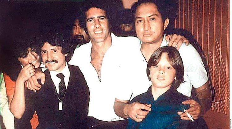 Tan cercana era la relación de Luis Miguel con Andrés García que lo llamaba
