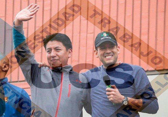 Camacho y Pumari van a las elecciones con la sigla UCS